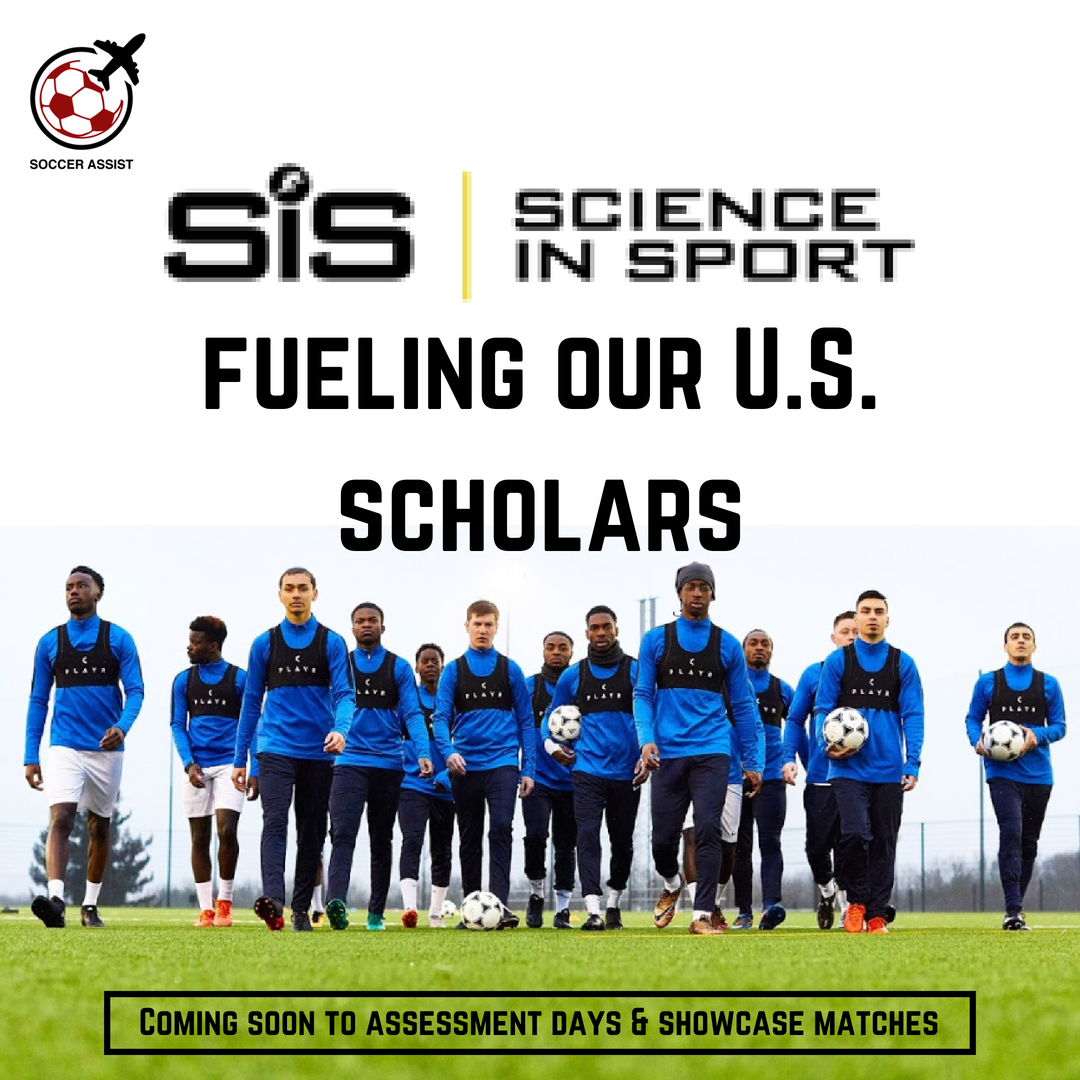 Soccer Assist team up with Science in Sport to fuel U.S. scholars