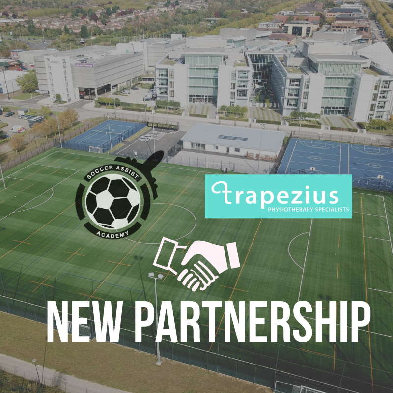 Soccer Assist Academy Signs Partnership with Trapezius Physiotherapy Clinic